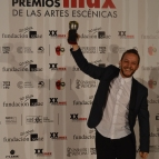 Mejor intérprete masculino de danza Manuel Liñán por Reversible.