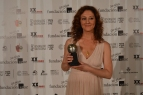 Mejor actriz protagonista Nuria Mencía por La respiración.